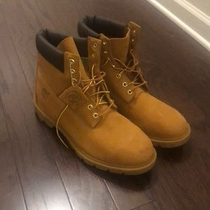 Brand new 6inch men's timberlands